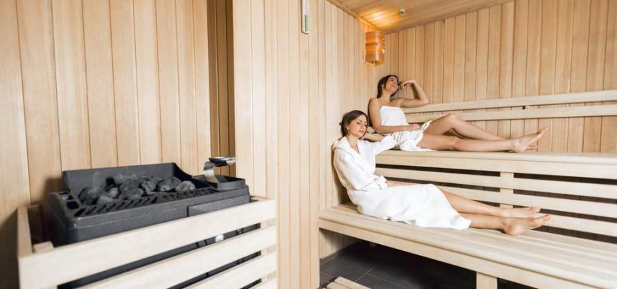 Eigene Sauna